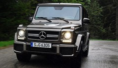 Essai Mercedes Classe G 63 AMG 544 ch : Le bruit et la fureur