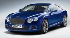 Bentley Continental GT Speed (2012) : Coup de folie