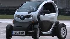 Le Renault Twizy sait aussi s'amuser
