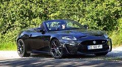 Virées en Jaguar XKR-S Cabriolet : une voiture de fille à poils