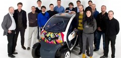 Renault Twizy sacré « best of the best 2012 » par le Red Dot Design Award