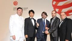 """Le """"Red Dot best of the best"""" Award 2012 est décerné à la Renault Twizy"""
