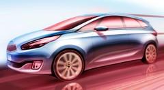 Mondial de l'Auto 2012 : nouveau Kia Carens, les premières images