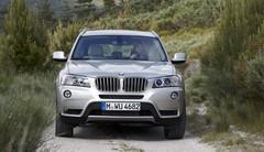 BMW X3 : nouvelle version d'accès 2 roues motrices