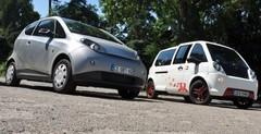 Essai Bolloré Bluecar contre Mia L : de l'électricité dans l'air