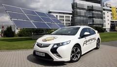 Le plein d'énergie solaire pour Opel