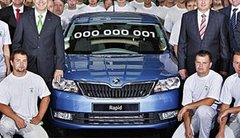 Skoda Rapid : la production a débuté