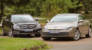 Essai Renault Laguna Coup V6 dCi 240 ch vs Mercedes Classe C Coup 250 CDI 204 ch