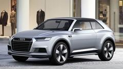Audi Crosslane Coupé : Un Q2 en devenir