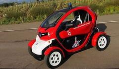 Une Renault Twizy pour les pompiers de Paris