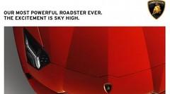 Lamborghini Aventador LP700-4 Roadster: présentation imminente