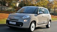 Essai Fiat 500L face à 4 concurrentes