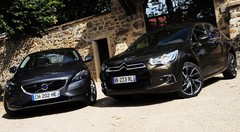 Essai Citroën DS4 1.6 THP 200 ch vs Volvo V40 T4 1.6 180 ch : Compactes alternatives