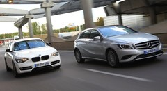 Essai BMW 116d EfficientDynamics vs Mercedes A 180 CDI Inspiration : Le standing compact