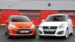 Essai Suzuki Swift Sport vs Ford Fiesta S : petites délurées atmos
