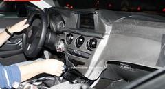 Intérieur future Mercedes Classe C : Espion à bord