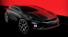 Une Kia ProCee'd GT se dessine pour Genève