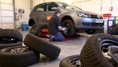 Test de pneus hiver : premiers résultats