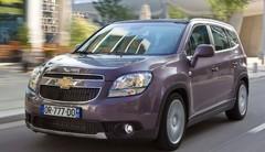 Le Chevrolet Orlando adopte de nouveaux moteurs moins gourmands