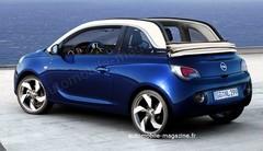 Opel Adam Cabriolet : Adam partiellement dénudé