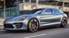 La Porsche Panamera Sport Turismo dans son élément