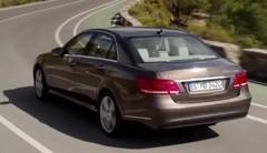 Mercedes Classe E restylée : première vidéo officielle