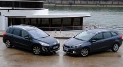Essai Kia Cee'd SW 1.6 CRDi 110 ch vs Peugeot 308 SW 1.6 e-HDI 112 ch : Duel de soutes