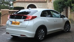 Essai Honda Civic 1.6 i-DTEC : taillée pour l'Europe
