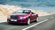 Bentley Continental GT Speed Convertible : Souveraine décapitée