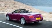 Nouvelle Bentley Continental GT Speed Convertible