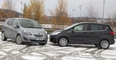 Essai Ford B-Max et Opel Meriva : Ils se plient en quatre pour la famille