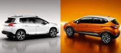 Peugeot 2008 et Renault Captur : une fierté française
