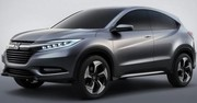 Premires images du Honda Urban SUV Concept