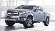 Ford Atlas Concept, F-150 en filigrane