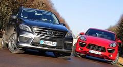 Essai Mercedes ML63 AMG vs Porsche Cayenne GTS : Haute voltige