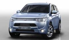 Mitsubishi Outlander PHEV : 1,9 L de consommation mixte !