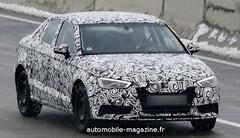 Audi A3 Sportlimousine : Pas de répit