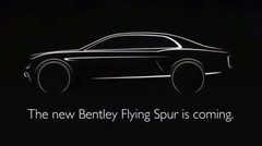 Un teaser pour la Bentley Continental Flying Spur 2014