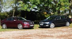 Essai Chevrolet Malibu 2.0 VCDi 160 ch vs Skoda Superb 2.0 TDI 140 ch : Surclassement