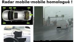 Radar mobile-mobile : les petits excès ménagés !