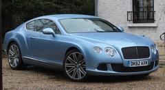 Essai Bentley Continental GT Speed (2013)