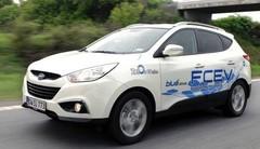 Hyundai dévoilera son ix35 à hydrogène de série à Genève