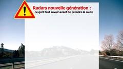Nouveaux radars : sans flash ni panneau d'avertissement dès le 15 mars