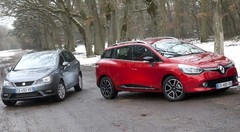 Essai : La Renault Clio Estate affronte la Seat Ibiza ST