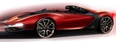 Le Pininfarina Sergio Concept en avance
