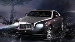 Rolls-Royce Wraith : coupé quatre places