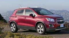 Chevrolet Trax : Gamme et tarifs, à partir de 17 990 €