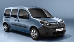 Renault Kangoo Z.E. restylé : les tarifs