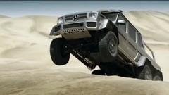 Mercedes G63 AMG 6×6 : à l'assaut des dunes