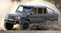 Mercedes G63 AMG 6X6 : Tempête dans le désert !